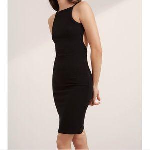 Aritzia Community Hartman dress sz xxs black
